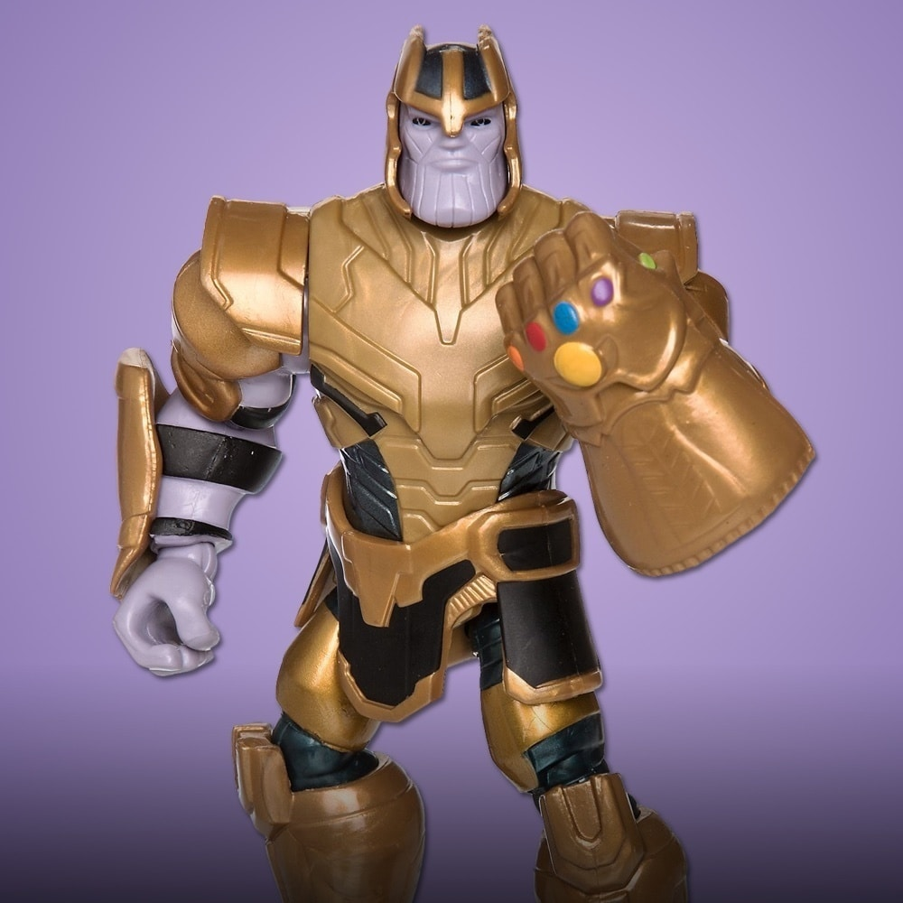 Thanos Action Figure with the iconic Infinity Gauntlet.