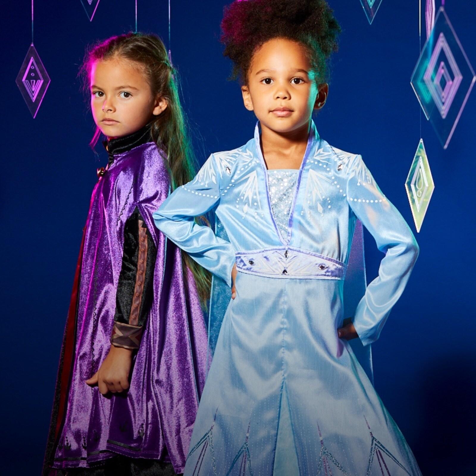 Anna und Elsa Kostüme