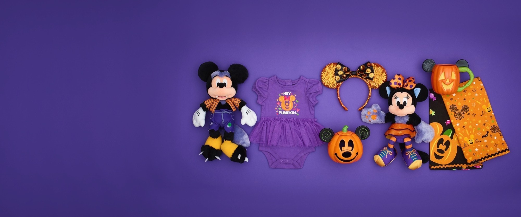 Halloween sur shopDisney