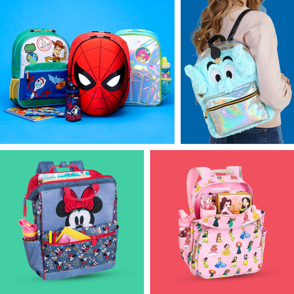 Personalised Mickey Mouse Style Backpack//Rucksack//School Bag