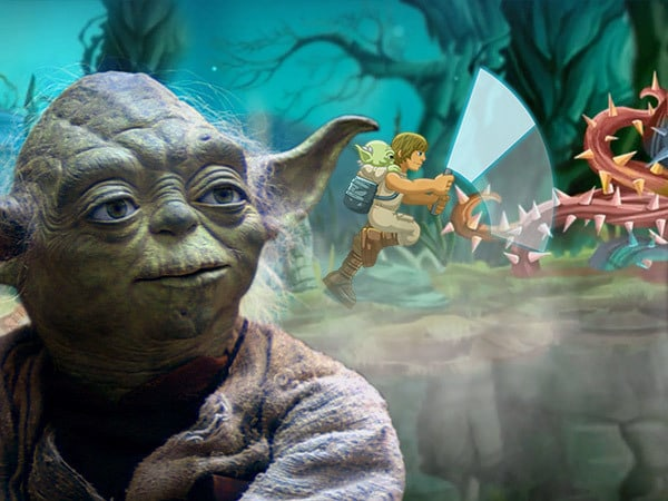 Yoda's Jedi Training - Star Wars Arcade