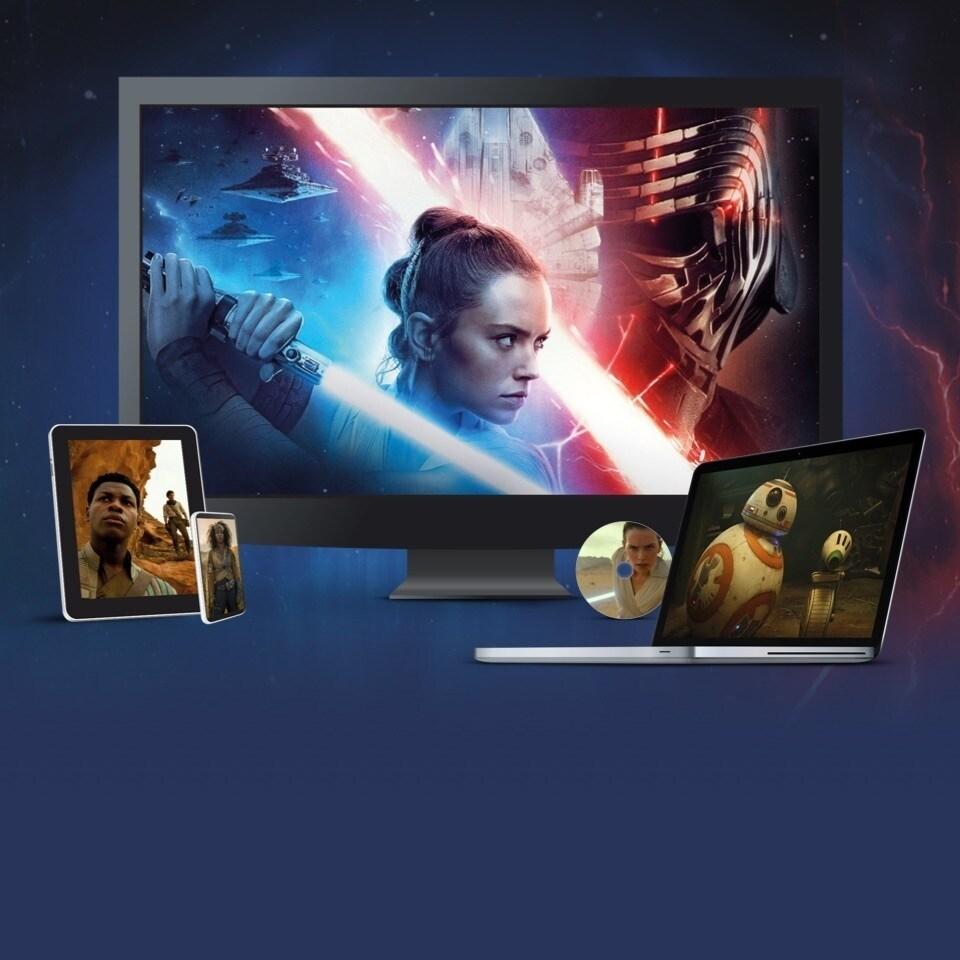 Star Wars: L'Ascesa di Skywalker, disponibile in DVD, Blu-Ray e download digitale