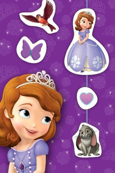 Decorações de Pendurar da Princesa Sofia