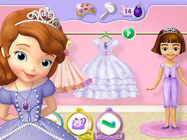 Prensesini yarat
