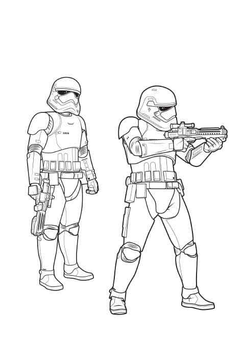 Star Wars Activity Sheet - Stormtroopers PDF