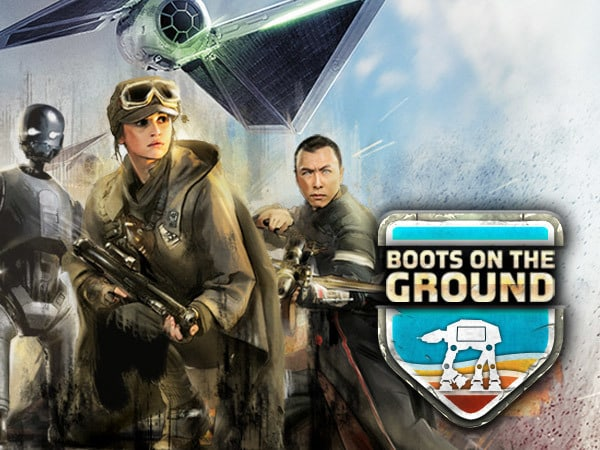 Star Wars Arcade: Rogue One - Boots on the Ground