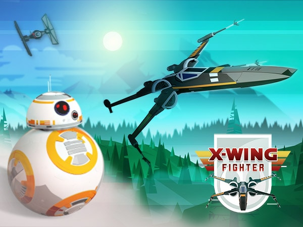 X-wing Fighter - Star Wars-Arkad