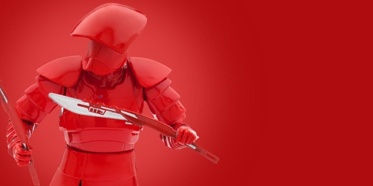 Star Wars: Gli Ultimi Jedi Elite Praetorian Guard | Disney Store