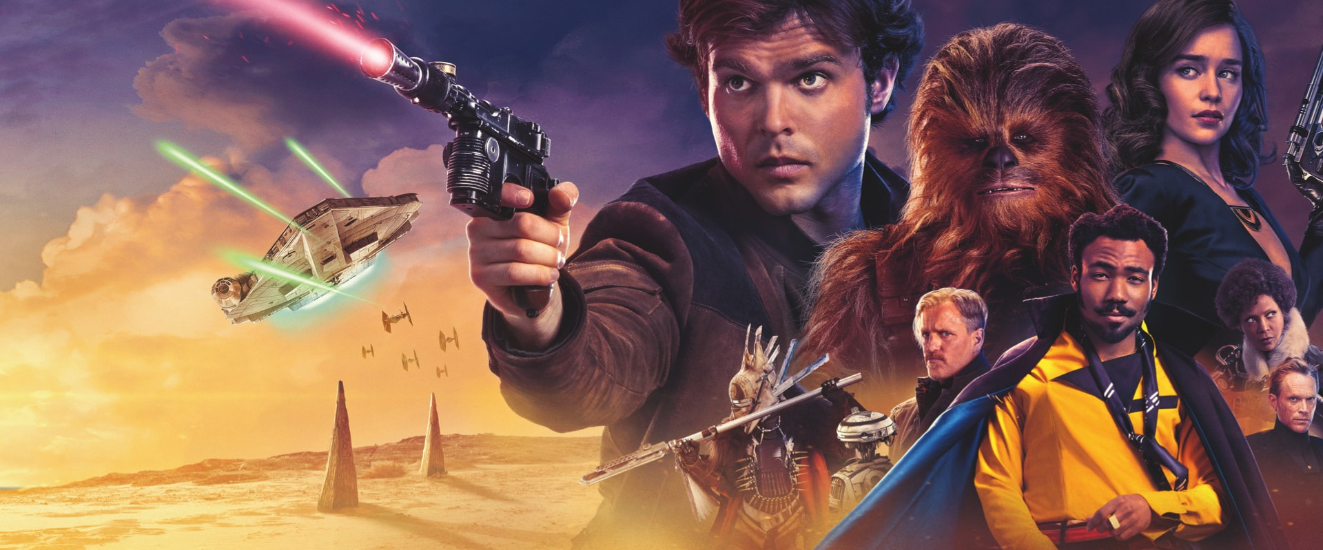 Han Solo: Bir Star Wars Hikayesi | Movie Trailer
