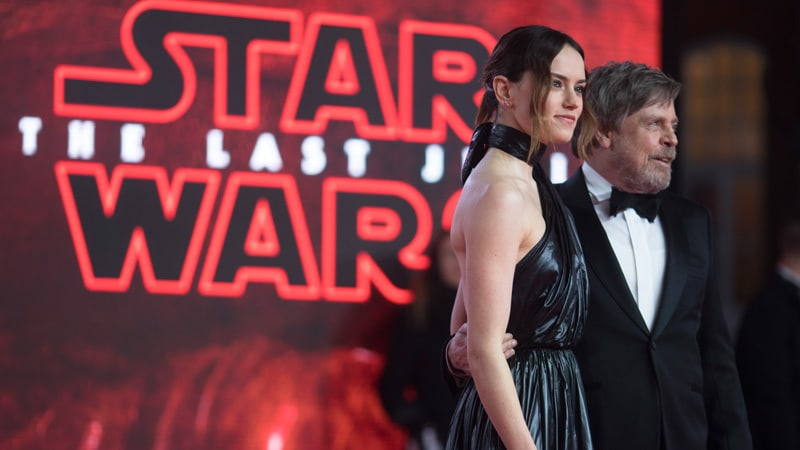 Star Wars: The Last Jedi Europeisk Premiere