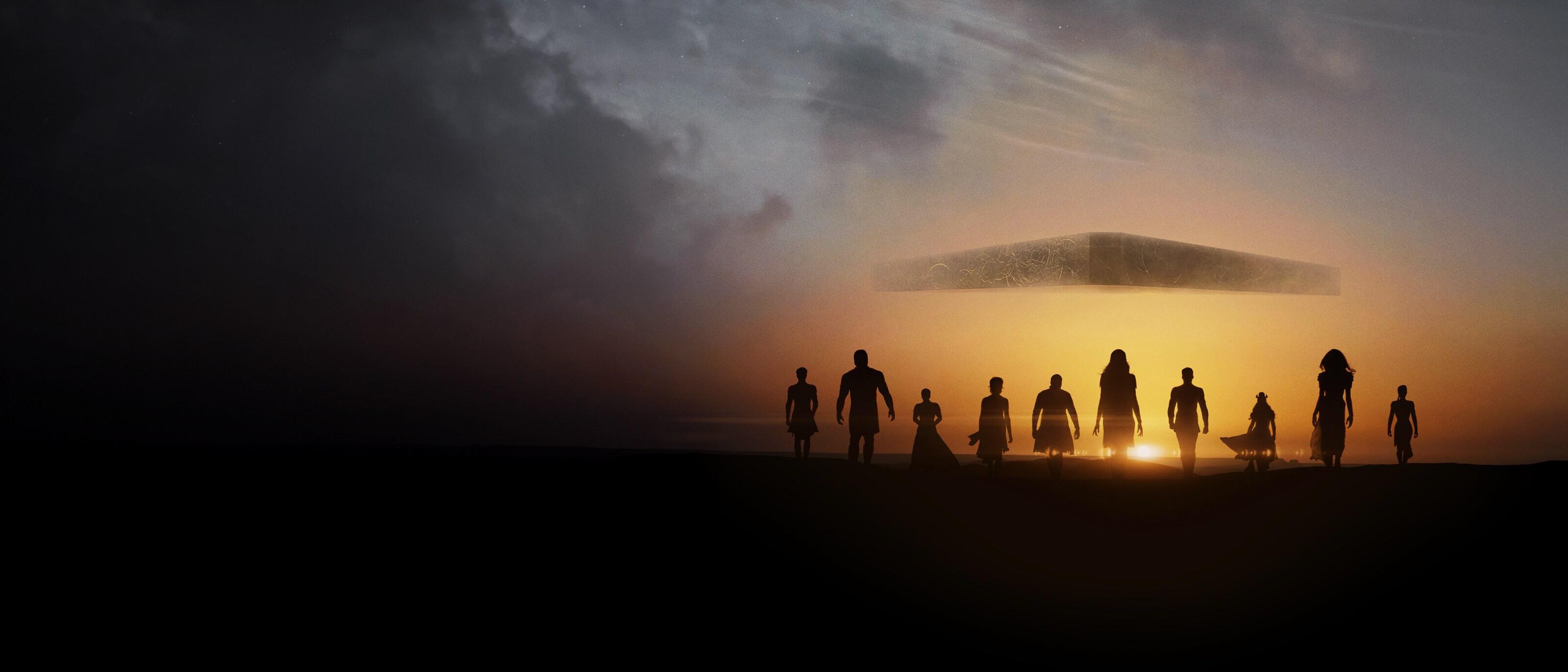 Lue lisää elokuvasta Eternals