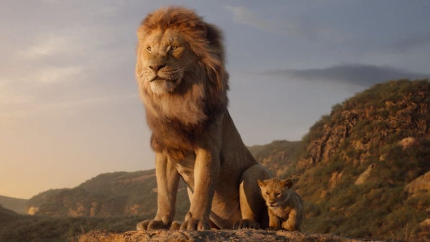 The Lion King (2019) | Simba and Mufasa