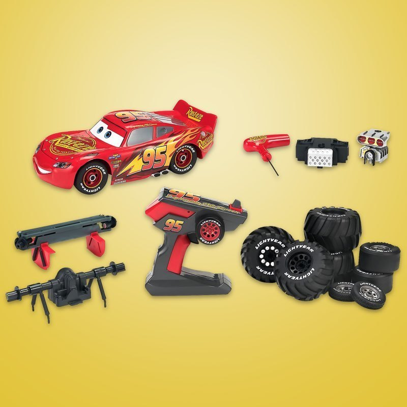 shopDisney | Build to Race Lightning McQueen