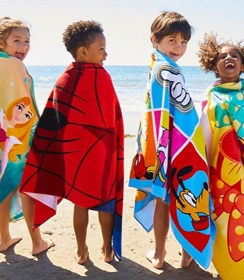 A selection of Disney inspired Beach Towels