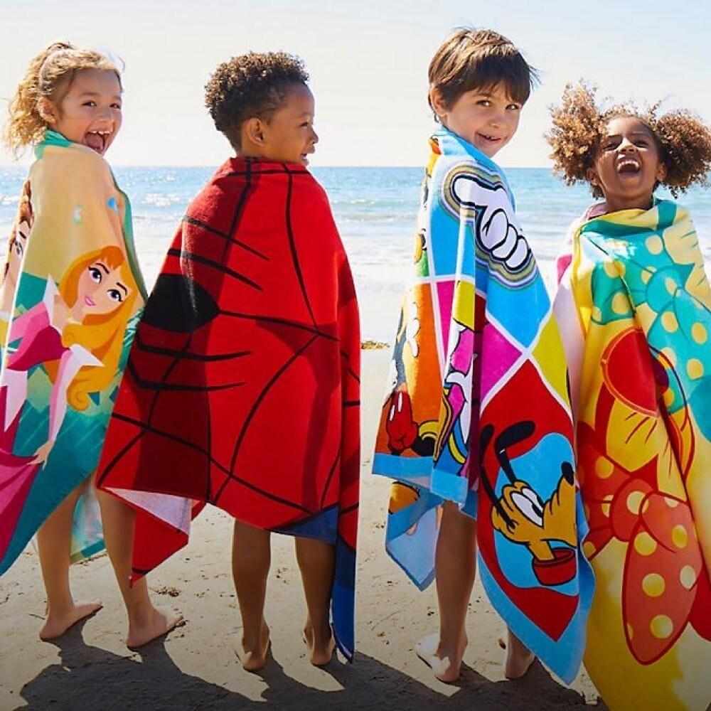 Una selección de toallas de playa inspiradas en Disney