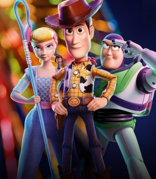 Bo Peep, Woody & Buzz du film Toy Story 4