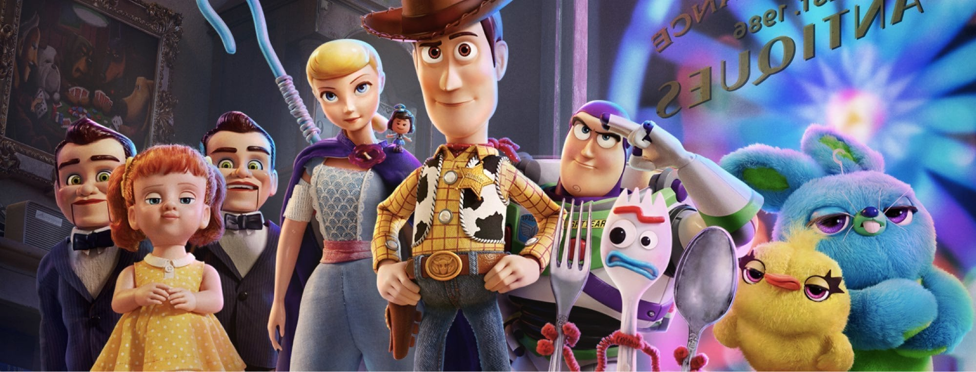 Toy Story 4 - Conhece as personagens