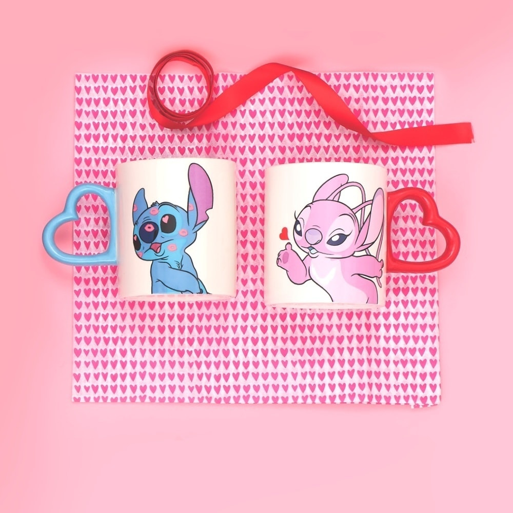 shopDisney l Les mugs Stitch et Angel