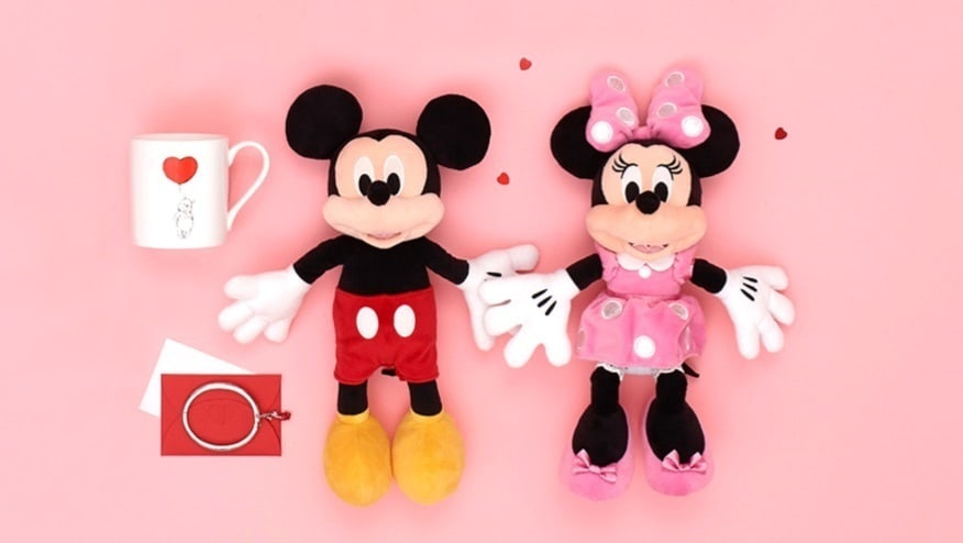shopDisney l Saint-Valentin sur shopDisney
