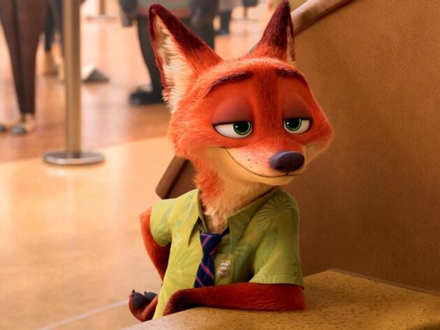 Nick: una volpe affascinante e artista della truffa, dalla parlantina sciolta e un'opinione su tu...
