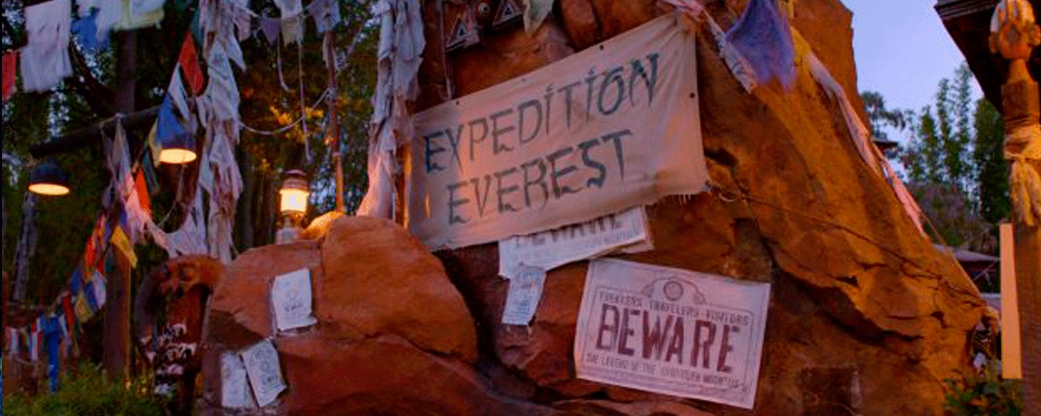Imagens da Expedition Everest