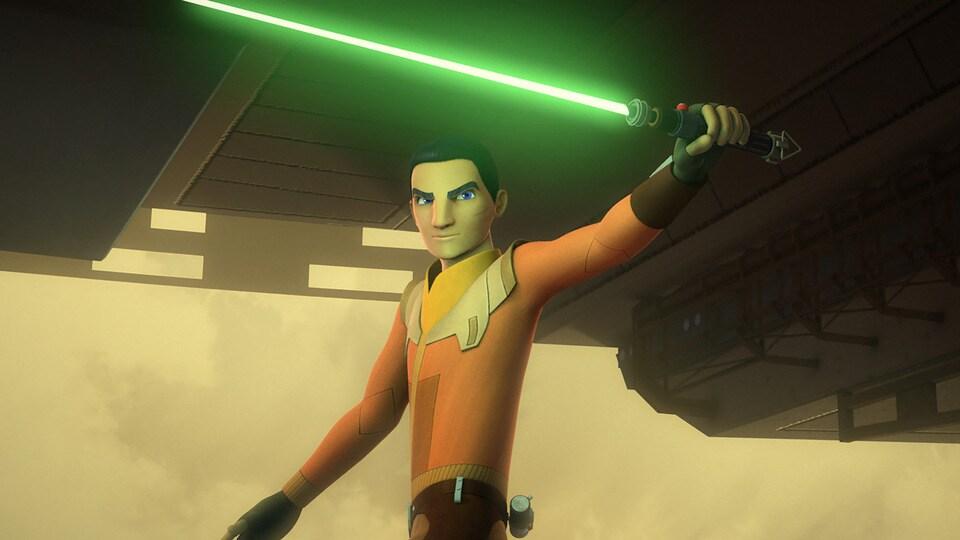 """Ezra Bridger in """"Rebels"""""""