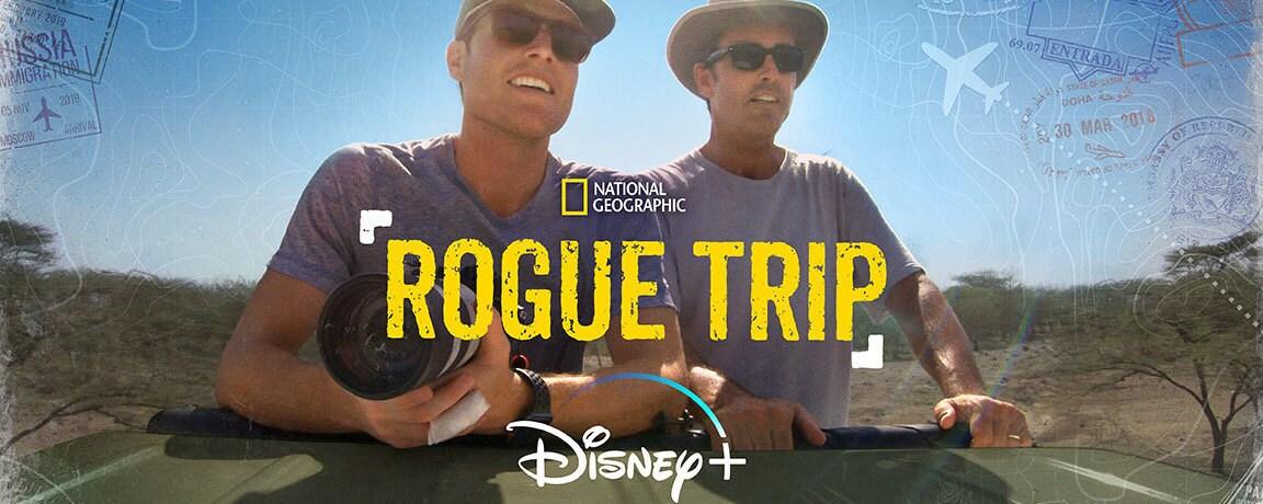"Bob And Mack Woodruff Embark On A Journey Around The Globe In Disney+ Original Series ""Rogue Trip"""