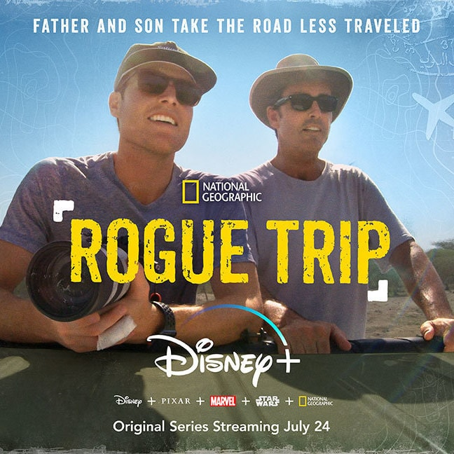 "Bob And Mack Woodruff Embark On A Journey Around The Globe In Disney+ Original Series ""Rogue Trip"""