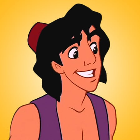 Coloriages Aladdin