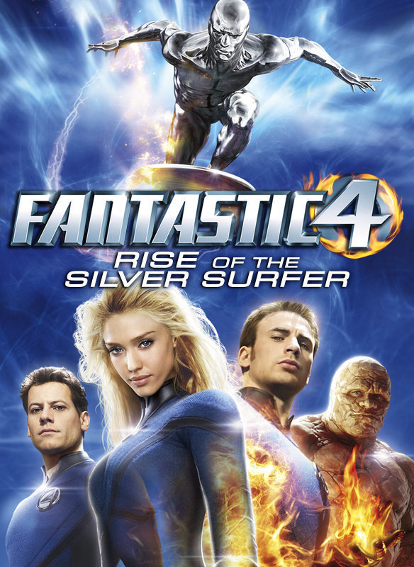 Fantastic Four: Rise of the Silver Surfer movie poster