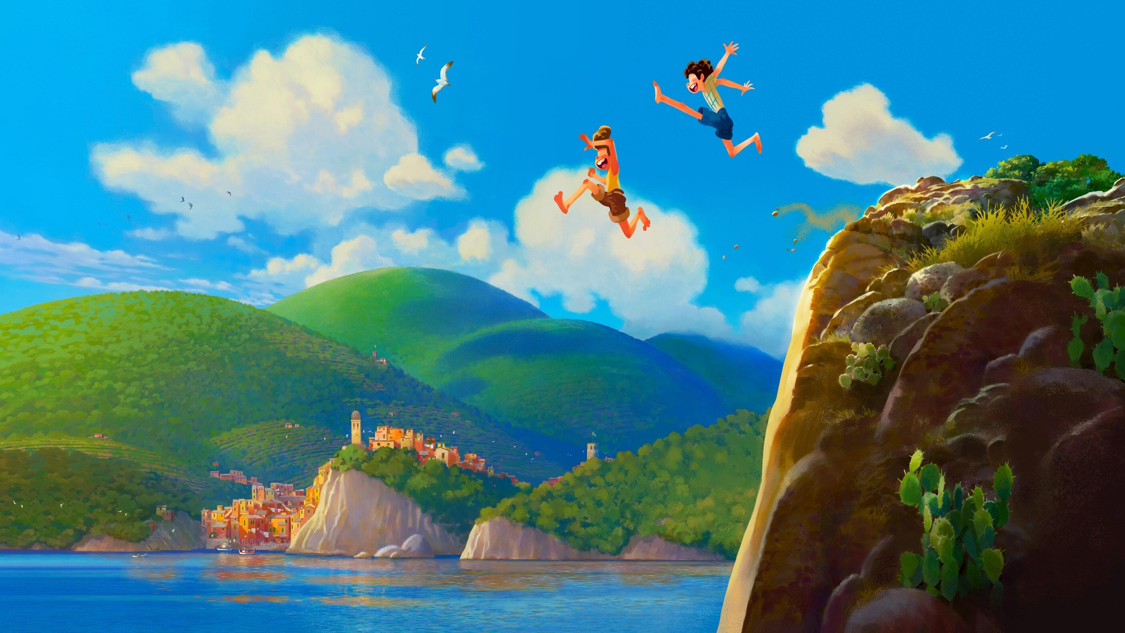 Luca, nova animação original da Pixar, convida o público a passar um verão inesquecível na Riviera Italiana