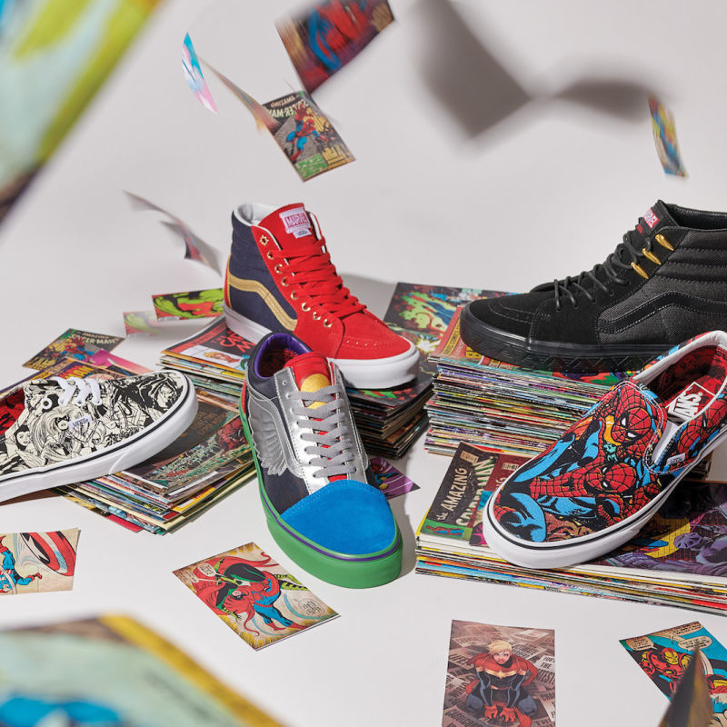 Marvel and Vans Team Up For a Heroic New Collection