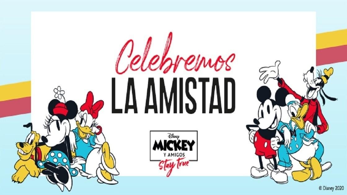 ¡Celebremos la amistad junto a Mickey y Amigos!