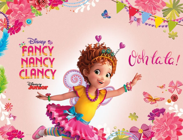 Fancy Nancy Clancy Disney Tv Shows Philippines