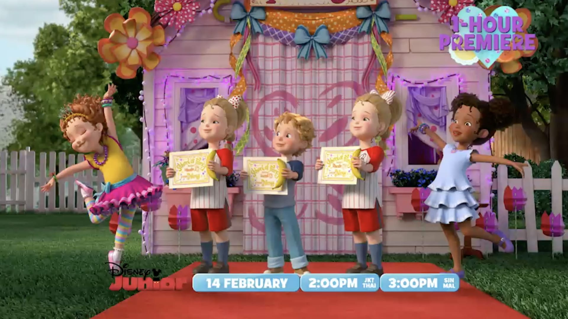 Fancy Nancy Clancy Trailer