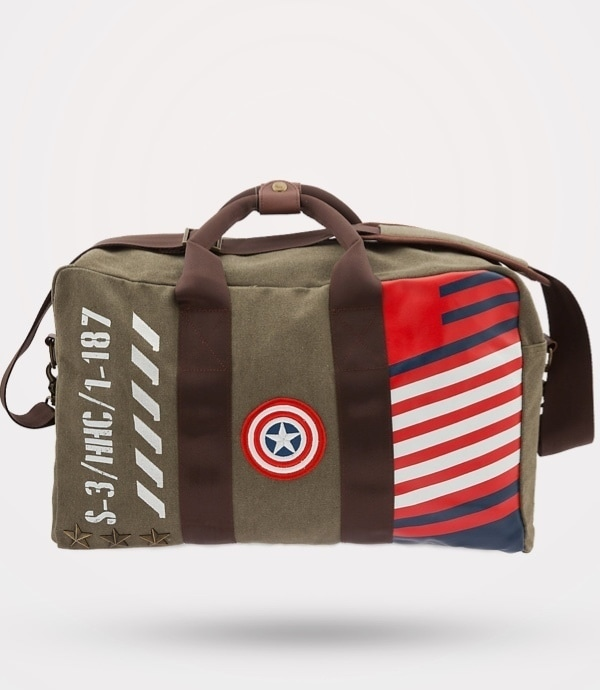 Fathers Day Gift Guide Captain America Bag