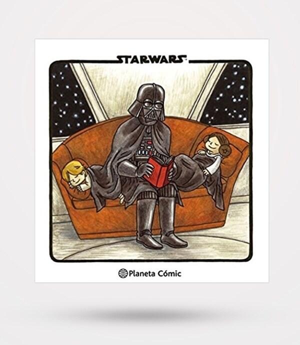 Amazon | Nuevo pack de tiras cómicas Darth Vader e hijos