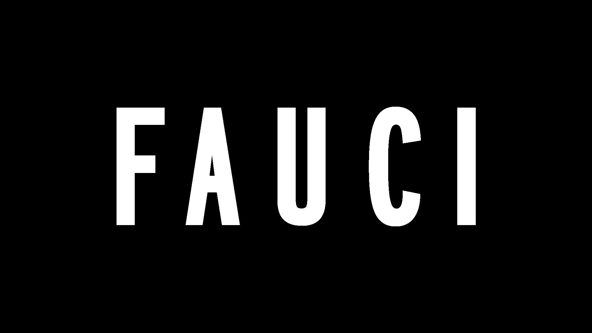Fauci Logo - White