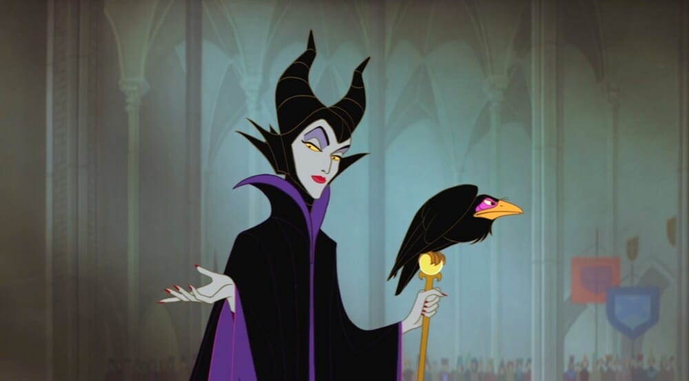 "Maleficent from the animated movie ""Sleeping Beauty"""