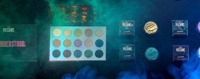 Products from the ColourPop Cosmetics' Disney Princess collection