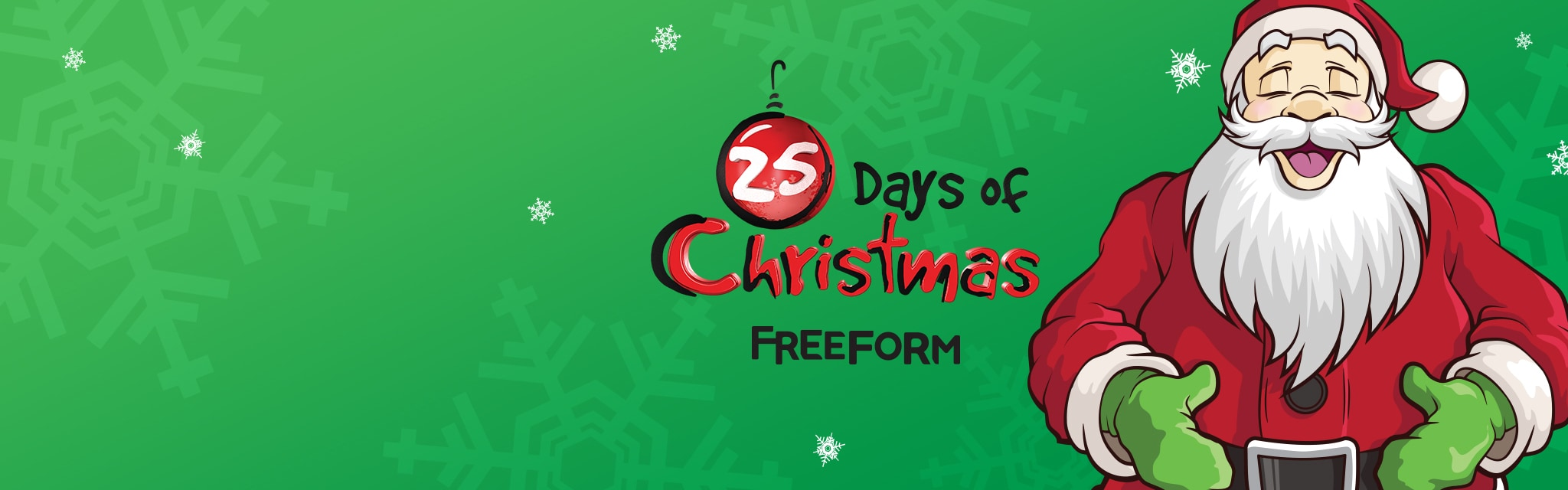 FreeForm - 25 Days of Christmas - Hero