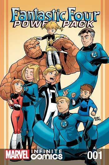 Fantastic Four & Power Pack #01