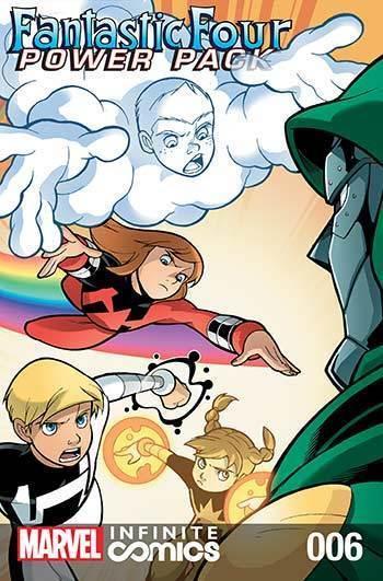 Fantastic Four & Power Pack #06