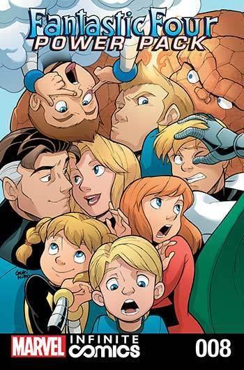 Fantastic Four & Power Pack #08