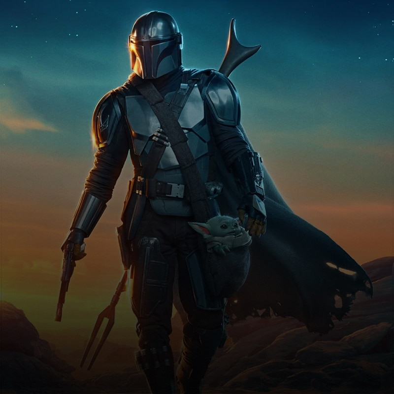 Artwork from the Mandalorian