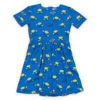 Image of Pizza Planet Dress for Women by Cakeworthy - Toy Story 4 # 1