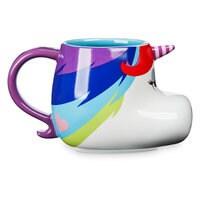 Image of Rainbow Unicorn Figural Mug - Inside Out # 4