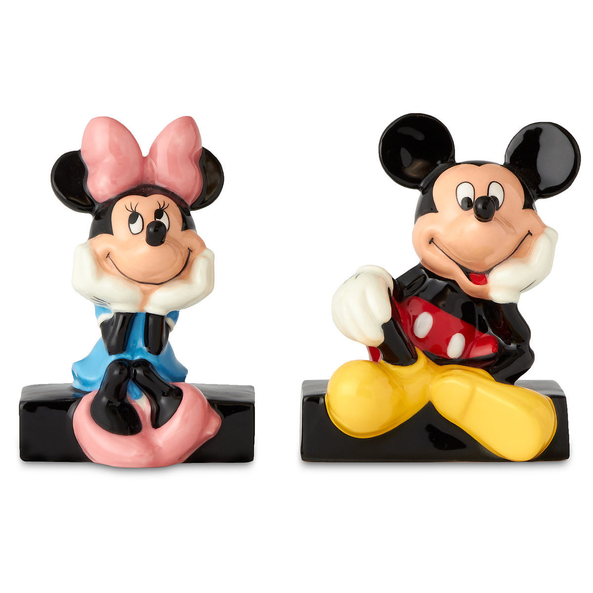 Mickey And Minnie Mouse Salt And Pepper Shaker Set Shopdisney