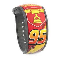 Image of Lightning McQueen and Tow Mater MagicBand 2 # 1