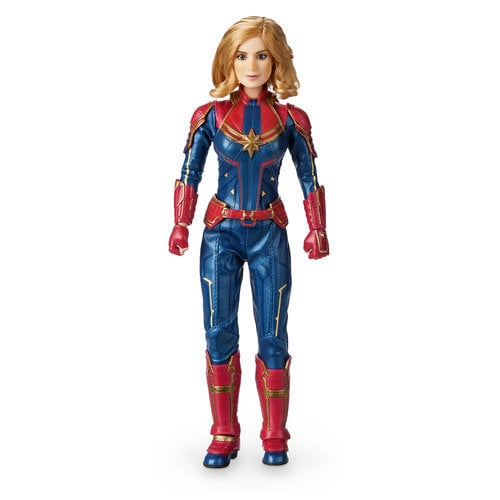 Marvel's Captain Marvel Doll Special Edition - 10''